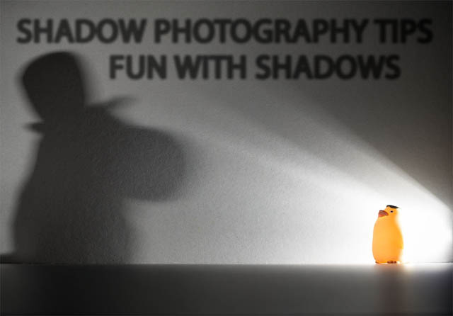 Shadow Photography Tips - Fun With Shadows