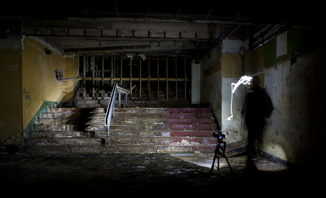 Tripod use in urbex photography