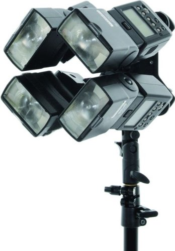 Lastolite LL LS2535 Speed Light Quad flash Bracket