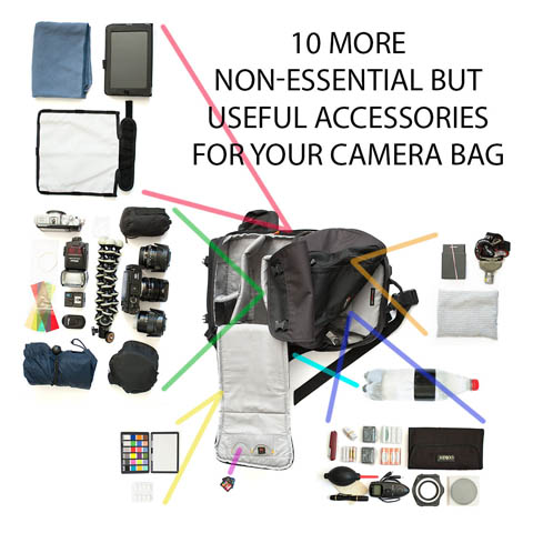 10 more non-essential but useful accessories for your camera bag