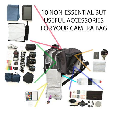 10 non-essential but useful accessories for your camera bag