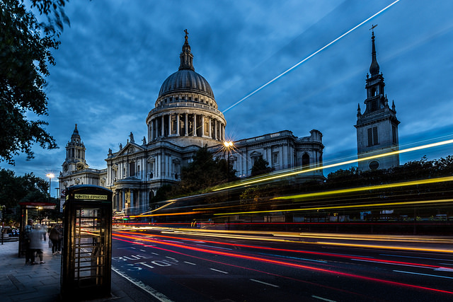 St. Paul's Cathedral Long Exposure