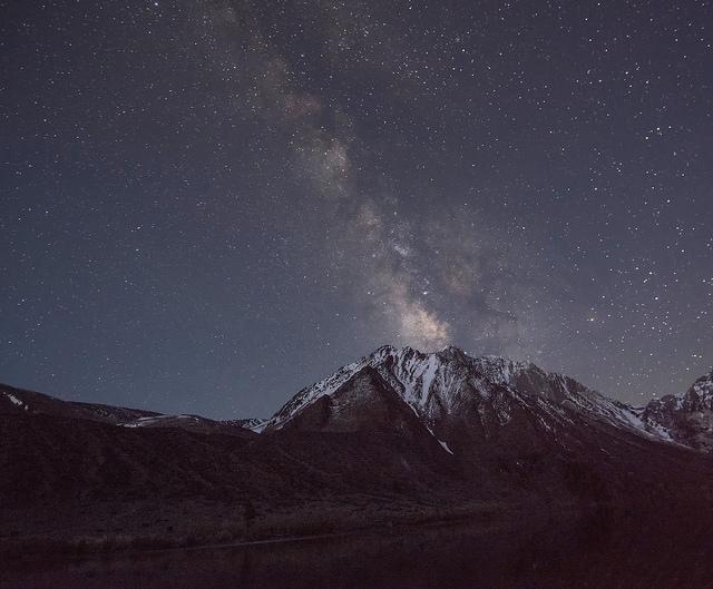 Milky Way over Mt. Morrison