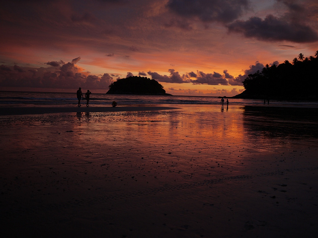 Kata beach sunset