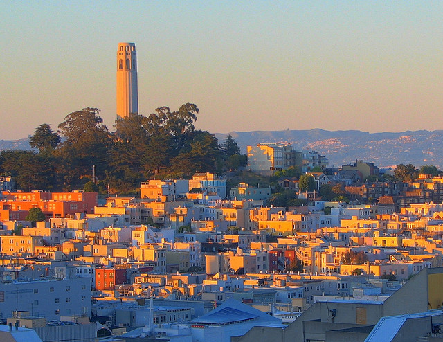 Telegraph Hill Golden Hour