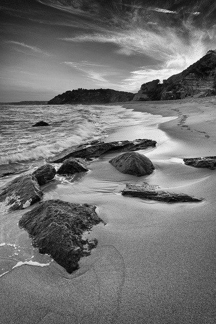 Black & White Landscape / Seascape photo