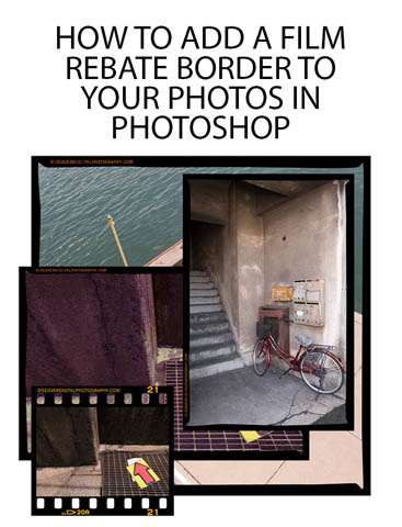 How to add a Film Rebate border to your photos in Photoshop