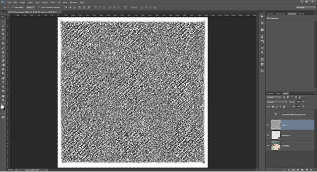 Luminosity based selection made using the noise layer