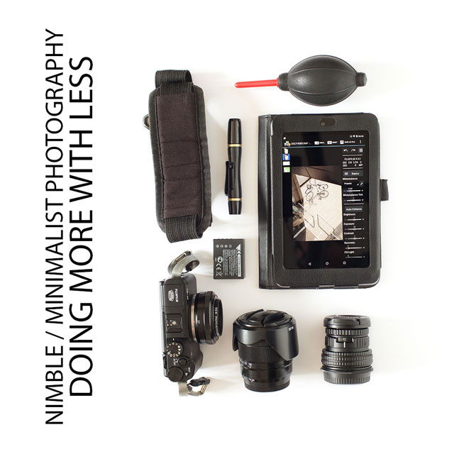 Nimble / Minimalist Photography - Doing more with less