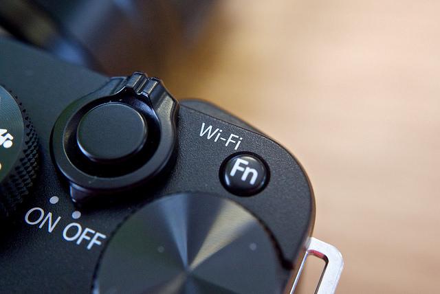 Camera WiFi button