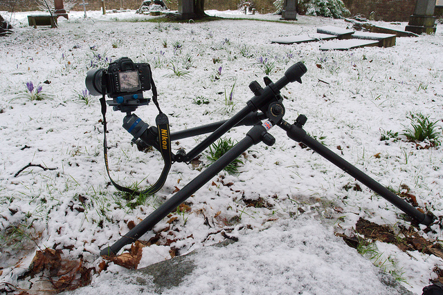 Tripod with rotatable center column