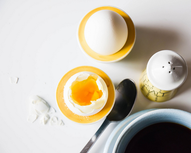 Coffee and egg
