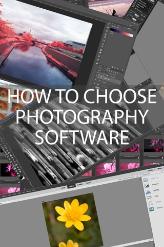 How to choose Photography Software