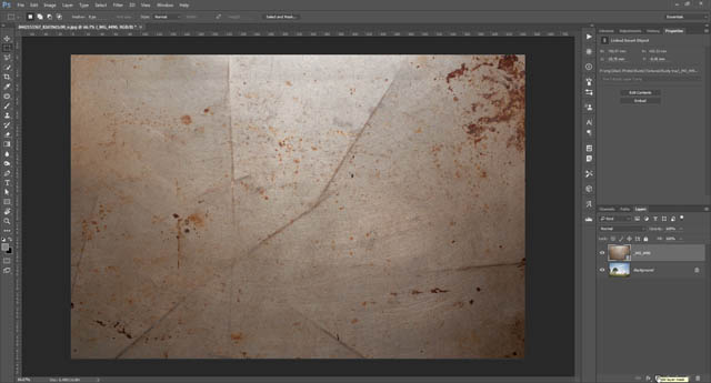 Adding layer mask to texture layer