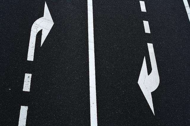 Recursion - road markings