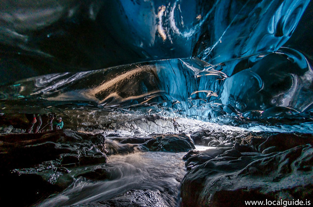 Tour of Ice cave in Iceland, led by a Local Guide